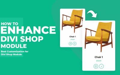 How to Enhance your Divi Shop Module